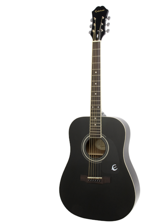 The Epiphone DR-100 Review The Epiphone DR-100 is a top-notch acoustic guitar meant for players who are just starting out. It will help you gear up and write your first song with speed and agility. The Epiphone comes with the right things you need in a guitar at a low price. The moment you use it, you'll be mesmerized by the sound it gives and the ease of use. This guitar can be played easily and gives you the best of acoustic guitar for such a low price. The sound of this guitar will impress you and since it is one of the Epiphone best sellers, it is really a good buy. Full Review of Epiphone DR-100 A lot of new guitar players and those that have been at it for a while now have thought about making their own songs. Guitar players fiddle on their instruments wishing to make that perfect song. In fact, most of them end up creating their songs with an acoustic guitar. The thing with an acoustic guitar is that not many people can afford them as they're quite expensive. But with the Epiphone DR-100, you can write great songs as a beginner because it is an acoustic guitar that you can get for a low price. This guitar is being reviewed based on parameters like the tunes it produces, the playability, and the general value it offers. Epiphone DR-100 Tones This guitar comes with all the great acoustic sounds. With it, you can play bluegrass, country, classical, folk, and every other kind of acoustic music. It is easy for you to hit chords and create lead lines. Despite going for a fair price, this guitar features excellent acoustic sounds. You'll be able to play all of your favorite music whether it is folk, country, rock, bluegrass, classical, or other styles of acoustic music. You will find it very easy to strum chords and play some simple lead lines. It has a very great sound to it despite the lower price tag especially as it is a dreadnought acoustic guitar. Epiphone DR-100 Playability The one thing that this guitar does not have is a cutaway. For this reason, it is not 